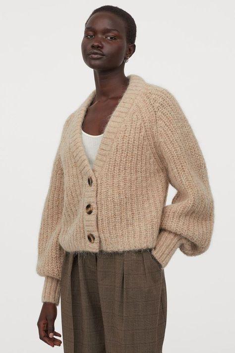 HM Knit Wool Cardigan