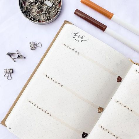 Premade Bullet Journal Custom Made // Hand Drawn in Full Color with Doodles Bullet Journal Premade, Bullet Journal Order, February Bullet Journal, Bullet Journal 2020, Bullet Journal Writing, Bullet Journal Aesthetic, Bullet Journal Themes, Bullet Journal Inspo, Bullet Journal Layout