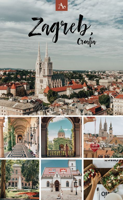 Travel Guide Best Things To Do In Zagreb Croatia Travel Croatia Travel Guide Zagreb Croatia