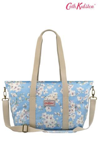 Cath Kidston® Blue Wellesley Blossom Mother's Tote Bag
