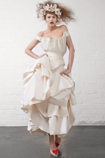 Vivienne Westwood Fall 2013 Bridal Fashion Show