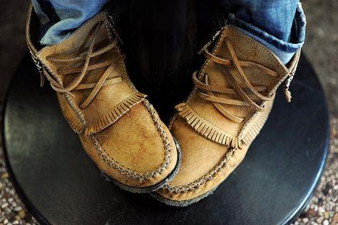 have i mentioned i love moccasins. wear them outside. wear them inside…