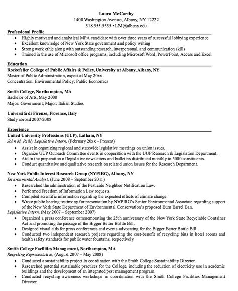 Environmental Analyst Resume Sample -    resumesdesign - resume for childcare