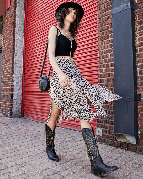 f8d3206b214 Golden Goose Wish Star Leather Cowboy Knee Boot in 2019 | Style Book ...