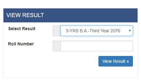 Tribhuvan University Tu B A Exam Results With Marksheet 2076 Check Now In 2020 Exam Results University Exam Exam