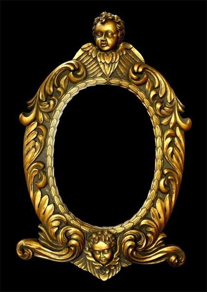 Free Golden European Picture Frame Mockup In Psd Ornate Picture Frames Free Photo Frames Free Frames