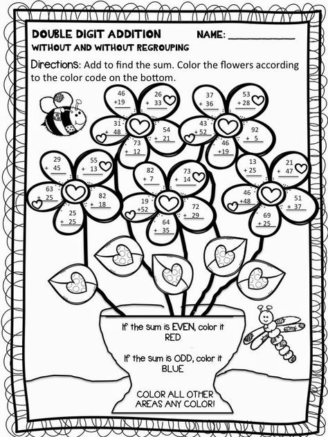 Color By Number Addition Best Coloring Pages For Kids Addition Coloring Worksheet Addition And Subtraction Worksheets Math Coloring Worksheets Addition color worksheets for second