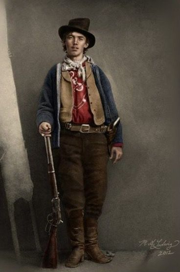 Billy the Kid (born Henry McCarty) 1859 - 1881 also known as William