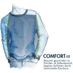 Ragman Pullover Herren Baumwolle Blau Ragman Men Sweater Polo Ralph Lauren Sweatshirt Mens Sweatshirts