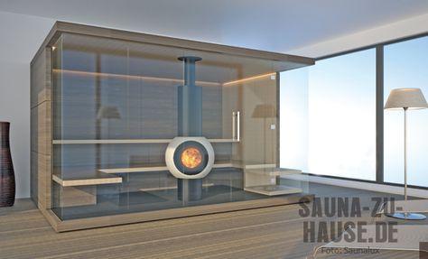 Saunalux-Sauna-Nussbaum-Hol Sauna, bath, spa ideat Pinterest - sauna designs zu hause