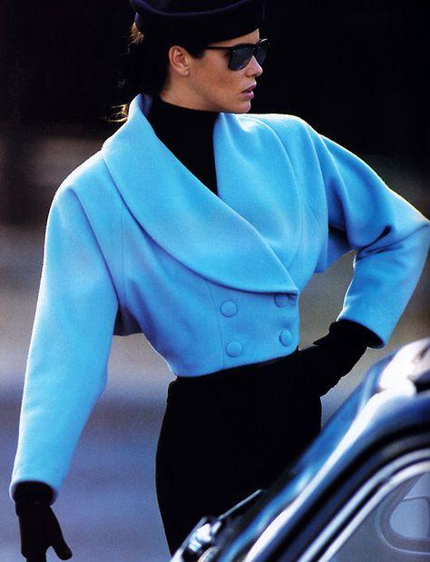 moda Best Fashion Look : Gilles Bensimon for Elle magazine, November