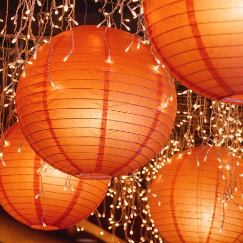 Lumabase Orange Electric String Light With Paper Lanterns : Target Orange Aesthetic, Aesthetic Colors, Aesthetic Collage, Aesthetic Pics, Aesthetic Pastel, Aesthetic Grunge, Aesthetic Vintage, Paper Lantern Lights, Paper Lanterns