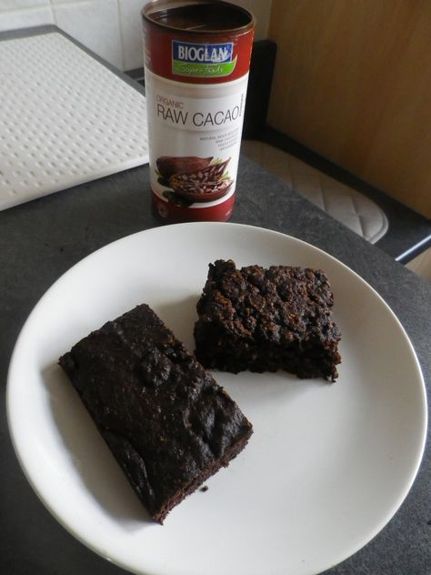 Sweet Potato Cacao Brownie Inspired To Bake This Because Of
