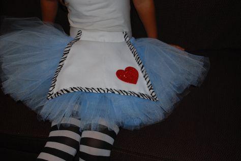 Adult or Teen Alice in Wonderland Tutu Custom Made... Future running costume?
