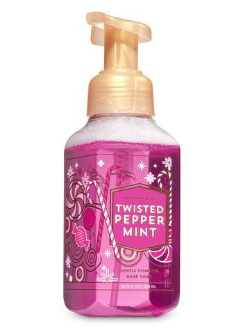 Twisted Peppermint Gentle Foaming Hand Soap Bath And Body Works