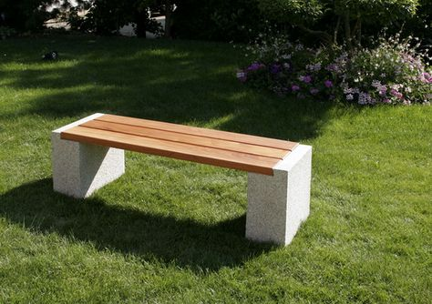 Garten Bank Insedeo Granit Holz 449 Diy Gartendekoration