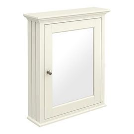 Old London Traditional Mirror Cabinet 650mm Wide Ivory In 2020 Traditional Bathroom Furniture Traditional Bathroom Bathroom Mirror Cabinet