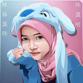 Pin Oleh Adelia Putri Di Hijab Ilustrasi Karakter Ilustrasi Lukisan Gambar Karakter