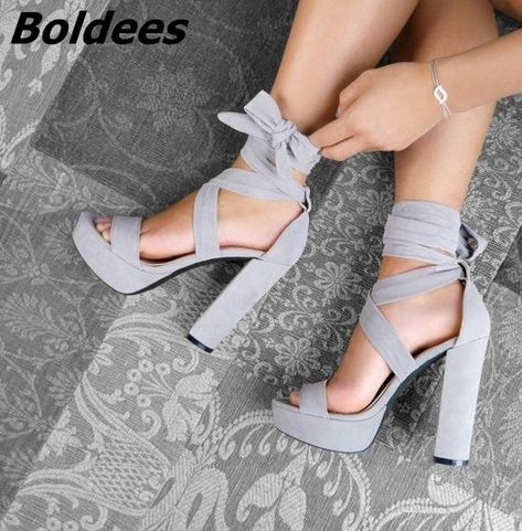 Beautiful, Charming Beige Strappy Sandals Suede Peep Toe Chunky Heels for Women . - Beautiful, Charming Beige Strappy Sandals Suede Peep Toe Chunky Heels for Women you best choice for Work, Formal event -TOP Design by FSJ Source by -