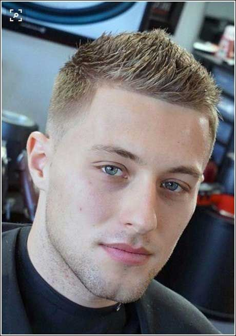 Frisuren Manner Extrem Kurz Herren Frisuren Blond Farbige Haare