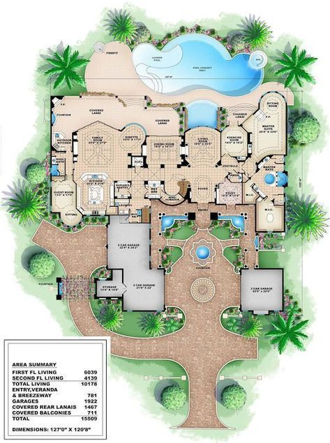 Most Expensive Fancy Houses In The World Fancyhouses Tags House Design Modern House Building A House Luxury Floor Plans Mansion Floor Plan Custom Home Plans