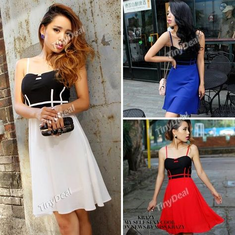 fbaf931f6ff (KRAZY) Fashion Pleated One-piece Tube Dress with Front Zipper for Girl  Lady Women NTL-71447