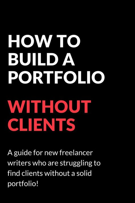 How to build a portfolio before you have paid clients - Patti Haus