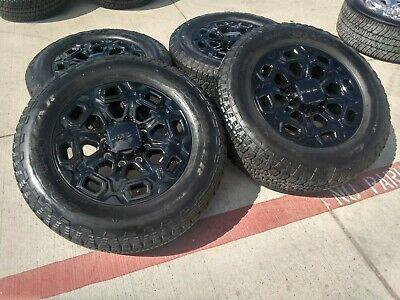 20 Gmc Sierra 2020 At4 Black 2500 3500 Oem Wheels Rims Tires