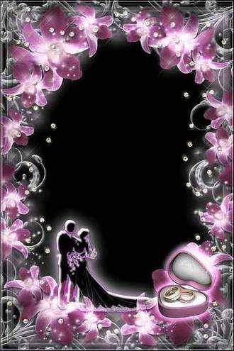 Luxury Wedding Frame - Shine of Diamonds