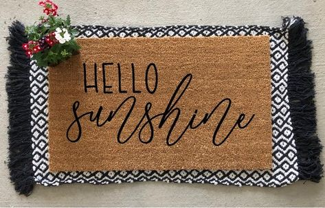 Love Lives Here Most Days Anyway Welcome Mat Front Porch