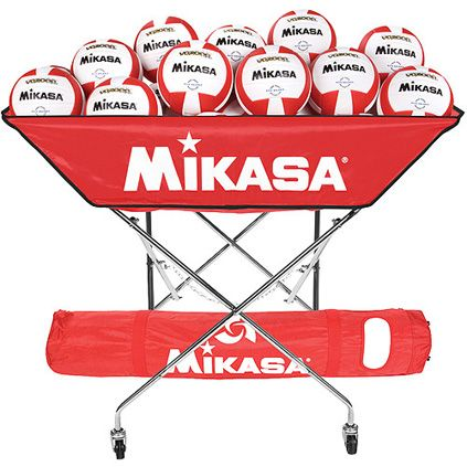 Volleyball Carts Hammocks Mikasa Collapsible Ball Hammock Volleyballs Volleyball Mikasa