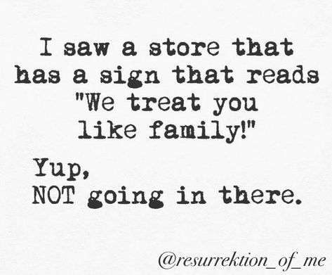 Family does NOT mean: Accepting abuse because you are blood. Keeping secrets. Walking on eggshells. Pretending things are healthy when they…