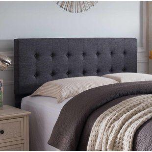 Andover Mills Cy Adjustable Upholstered Panel Headboard Wayfair