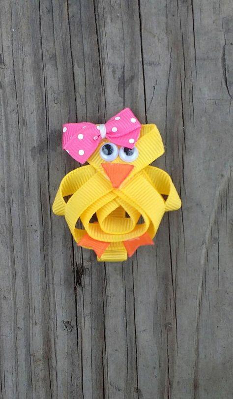"NEW /""ZEBRA CUPCAKE/"" Hairbow Alligator Clip Girls Ribbon Sculpture Bows Birthday"