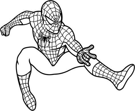 Disegni Da Colorare Gratis Spiderman 3
