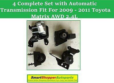 Engine Mount For 2010-2011 Toyota MATRIX L4 2.4L AWD Rear
