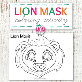 Paper Plate You Don T Need Those For This Fun And Easy Lion Mask