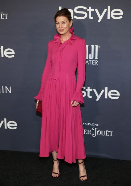 Ellen Pompeo at the 2017 InStyle Awards presented in partnership with FIJI WaterAssignment at The Getty Center on October 23, 2017 in Los Angeles, California. - 28 of 116