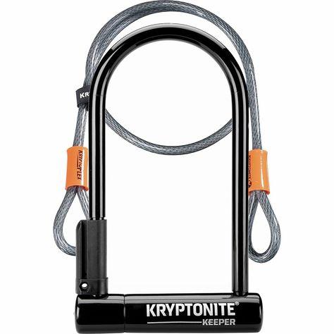 Kryptonite New U Keeper Std With 4 Flex Cable Bicycle Lock