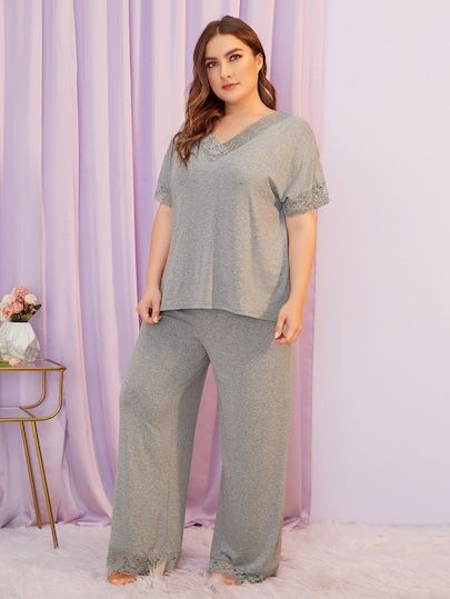 INVOLAND Women Plus Size Robes Long Sleeve Bath Robe Knit Bathrobe Soft Sleepwear Ladies Nightwear 18W-26W