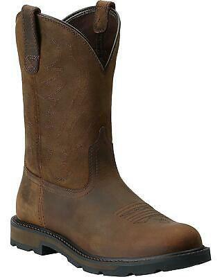 d50c23850b6 Ad)eBay - Ariat Groundbreaker Pull-On Work Boot - Round Toe ...