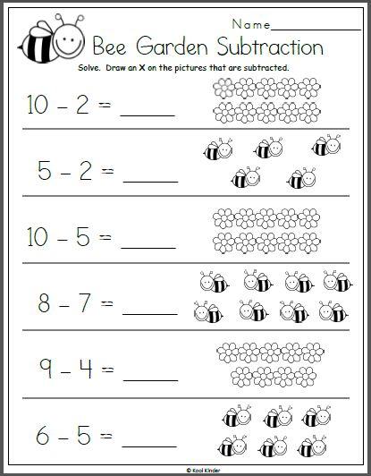 Subtraction Kindergarten Math Worksheets In 2020 Subtraction Kindergarten Kindergarten Subtraction Worksheets Preschool Math Worksheets