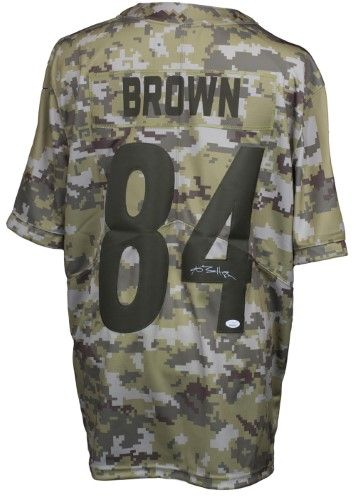2def121966e Pittsburgh Steelers Nike Youth  84 Antonio Brown Replica Salute to Service  (STS) Jersey