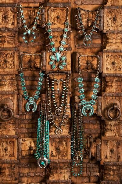 Necklace, Squash Blossom, Vintage, Turquoise, 503 - List of the best jewelry Jewelry Tags, Body Jewelry, Jewelry Necklaces, Gold Jewellery, Diamond Necklaces, Crystal Jewelry, Silver Jewelry, Jewelry Accessories, Silver Rings