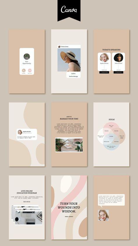 Instagram Feed Layout, Instagram Post Template, Instagram Design, Instagram Story Ideas, Social Media Banner, Social Media Template, Social Media Design, Branding Kit, Branding Design