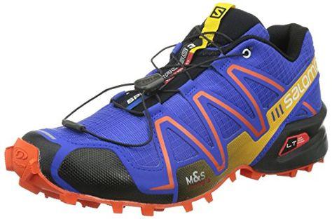 Femme Wings Flyte 2 Chaussures de Course à Pied et Trail Running, Synthétique/Textile, Rouge, Pointure: 36 2/3Salomon
