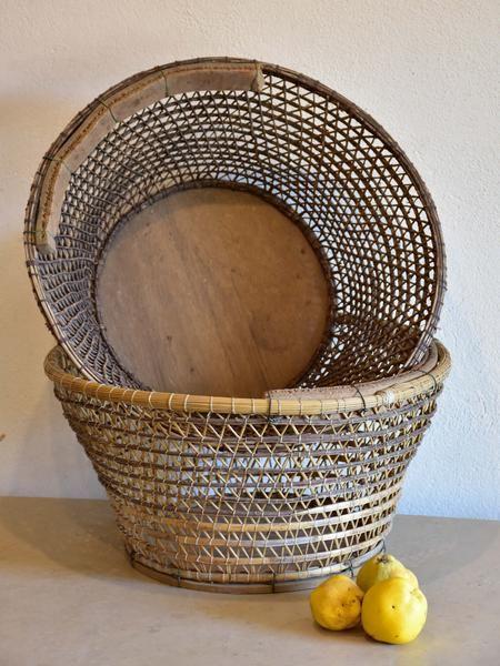 Fishing 3 Point Baskets33 Very Pair Large Vintage Of TK1cFl3J