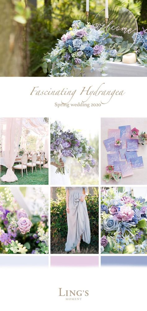 Spring Wedding 2020 - Trending wedding color schemes, flowers combo Off Now! Informations About Spring Wedding 2020 - Trending wedding color schemes, flowers combo Off Now! Pin You can easily March Wedding Colors, Spring Wedding Flowers, Spring Wedding Themes, April Wedding, Lavender Wedding Theme, Periwinkle Wedding, Pastel Wedding Colors, Romantic Wedding Themes, Budget Wedding