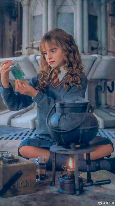 Hermione Granger / Harry Potter/ Poções🔮⚡❤
