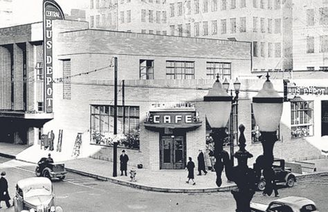 Portland Greyhound Bus Station from 1938, The Oregonian, 7-29-13.